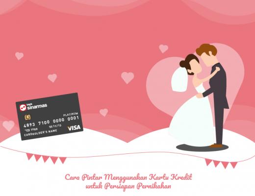 [Infografik] Cara Pintar Menggunakan Kartu Kredit untuk Persiapan Pernikahan