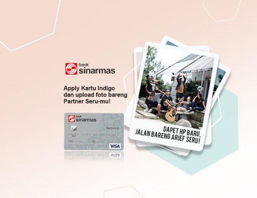 Yuk, Seru-seruan Bersama #PartnerYangSeru Bareng Bank Sinarmas dan Arief Muhammad!