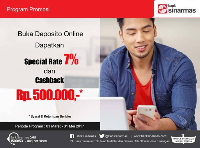 Image result for Deposito Rp 500 ribu