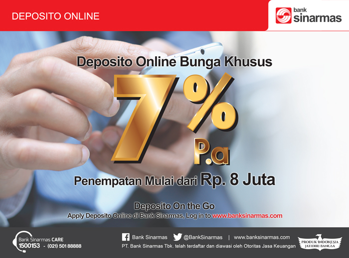 Image result for Deposito Online Bunga 7%