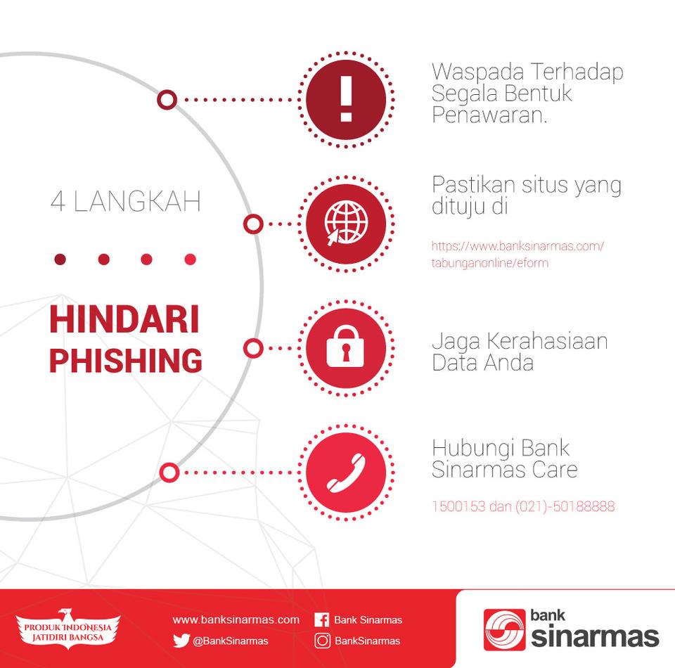 infografik waspada phising e-form bank sinarmas