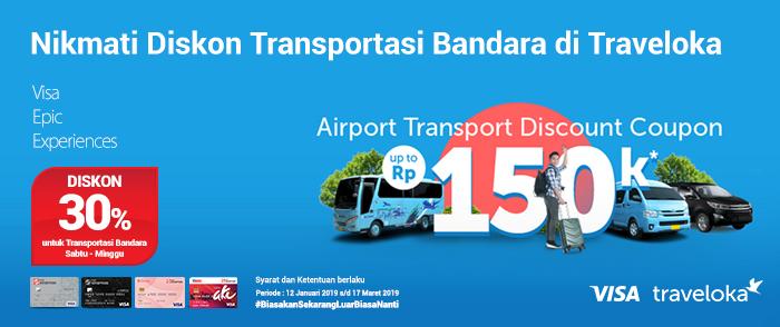 Bank Sinarmas Diskon Transportasi Bandara Di Traveloka
