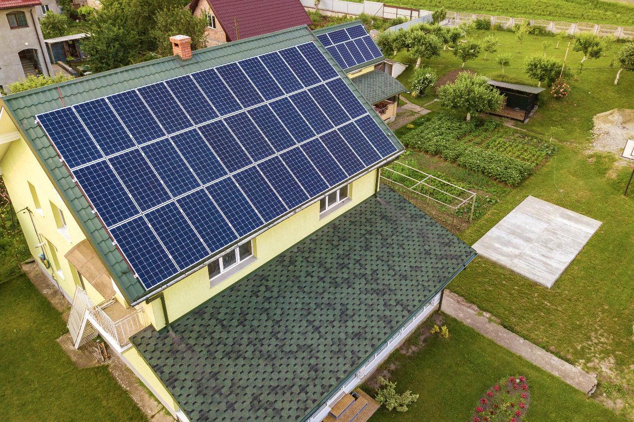 Contoh 1 penggunaan Solar Panel SUNterra