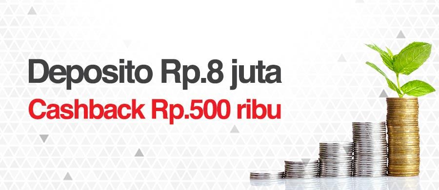 Image result for deposito Rp500 ribu